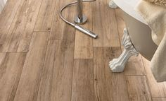 Wood look ceramic tiles are versatile! Use them anywhere on the floors and walls of your home. Wooden Floor Tiles, Wood Tile Floors, Wood Look Tile, Bathroom Floor Tiles, Wooden Flooring, Hardwood Floors, Decor, Wood Flooring, Wood Shingles