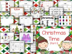 Christmas Activities - Sharing Kindergarten