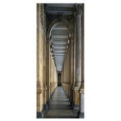 Trompe L'oeil Door Castel Corridor- Koziel by Couture Déco
