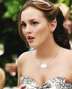 Blair Waldorf and Tiffany necklace