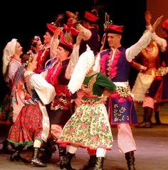 Krakowiak folk dance Poland