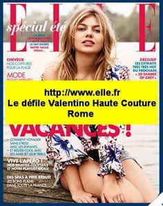 #Roma Défilé Valentino, Piazza Mignanelli, complétement privatisée ce 9 juillet, fabuleux spectacle… La collection femme top niveau également… Comme d'habitude ! http://www.elle.fr/Mode/Les-news-mode/Autres-news/Suivez-le-defile-Valentino-Haute-Couture-en-direct-de-Rome-2966542