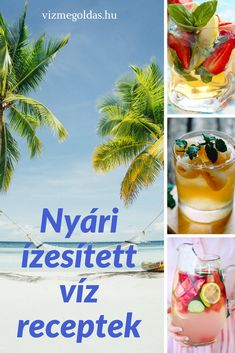 Ízesített víz ötletek - Szuperzsírégető citrusos házi ízesített víz Smoothie Mix, Smoothies, Coffee Bad For You, Zero Calorie Drinks, Healthy Drinks, Healthy Recipes, Drinking Black Coffee, Coffee Health Benefits, Food 52