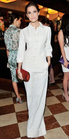 Look of the Day - January 12, 2015 - Allison Williams in Stella McCartney from #InStyle