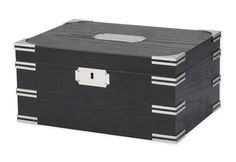 100 Cigar Humidor with Divider. #SharperImage. #ValentinesDay.