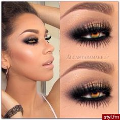 this eye make up look! Gorgeous Makeup, Pretty Makeup, Love Makeup, Makeup Inspo, Makeup Inspiration, Gorgeous Eyes, Makeup Style, Pretty Eyes, Make Up Looks