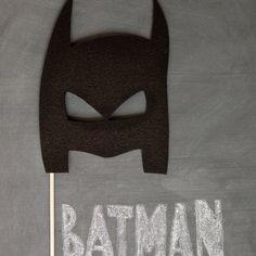 photo booth idea superheroes - batman