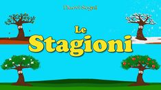 Le stagioni Canti, Activities For Kids, Children, Youtube, Baby, Spring, Young Children, Boys, Children Activities