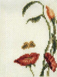 crossstitch ebook   pattern woman man monochrome by salenet, $28.00