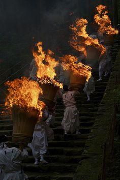 The Fire Festival, Japan