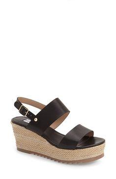 Steve Madden 'Waria' Platform Wedge Sandal (Women) available at #Nordstrom