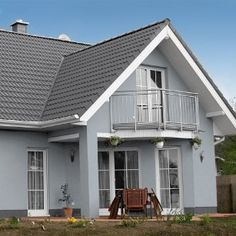 Hausfassade Gestalten Helle Farbe Haus Pinterest House House