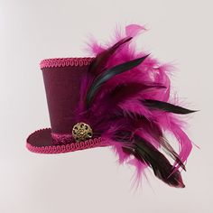 Burlesque+Gothic+Steampunk+Victorian+by+MiniTopHatBoutique+on+Etsy,+$34.99 - this one is Old School Cheshire Cat colors!