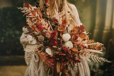 Boho Elopement at Castle Ashby in Northamptonshire with Non-traditional Sara Lage Wedding Dress and Dried Flower Bouquet by Tipos Photography Services Phuket Wedding, Elope Wedding, Fall Wedding, Wedding Venues, Wedding Dress, Autumn Weddings, Dried Flower Bouquet, Flower Bouquet Wedding, Dried Flowers