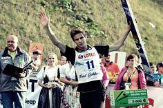 Andreas Wellinger LGP wisła 2014 Ski Jumping, Jumpers, Grand Prix, Skiing, Sky, Baseball Cards, Sport, World, Ski