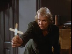 David Soul in the original Salem's Lot...read  the  book,  watched  the  movie,  OWN  the  movie,  &  they  both  scared  the  hell  out  of  me