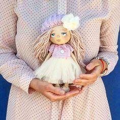 #кукла #интерьернаякукла #авторскаякукла #текстильнаякукла #куклаизткани…