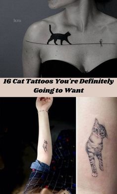 Body modifications and tattoos have become second nature in today's society. #16 #CatTattoos #Tattoos