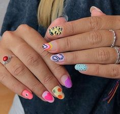 73 Trendy Simple Manicure Nails Ideas For Fall, Try it! Nail Design Stiletto, Nail Design Glitter, Acryl Nails, Funky Nails, Funky Nail Art, Trendy Nail Art, Fire Nails, Minimalist Nails, Best Acrylic Nails