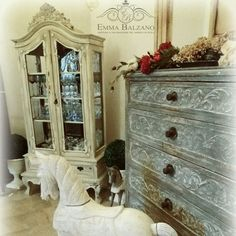 Home decor patine french  shabby country
