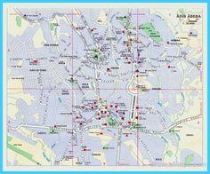cool Map of Addis Ababa