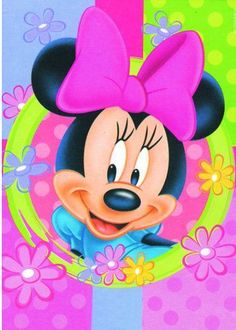 "Diamond Painting Disney Cartoon ""Minnie Mouse"" Full Square Drill Cross Stitch Kits DIY Mosaic Embroidery Home Decor Bedroom Wall Painting - Mickey Mouse E Amigos, Mickey E Minnie Mouse, Mickey Mouse And Friends, Walt Disney, Disney Mickey, Disney Art, Retro Disney, Cute Disney, Disney Images"