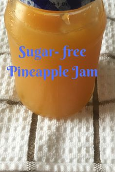 A sugar- free pineapple jam perfect for a low carb-keto diet.It is packed with n… A sugar- free pineapple jam perfect for a low carb-keto diet.It is packed with nutrients and anti-oxidants vital for your health. Sugar Free Jam, Sugar Free Recipes, Jam Recipes, Low Sugar, Healthy Recipes, Canning Pineapple, Pineapple Jam, Guava Jam, Vegan Alfredo Sauce