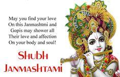 Happy Krishna Janmashtami Wishes in Hindi, Shayari SMS Msg in English Happy Janmashtami Quotes, Happy Janmashtami Image, Janmashtami Status, Janmashtami Wishes, Krishna Janmashtami, Janmashtami Pictures, Reasons To Be Happy, Body And Soul, Lord Krishna