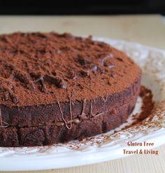 Torta al cacao senza glutine, uova e lattosio