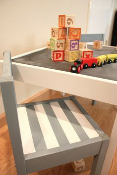 WEEK 7. IKEA Latt Children's Table Hack. Have this table and chairs and cant wait to do my own hack!