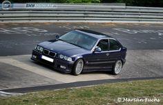 BMW e36 compact 323ti on OEM BMW styling 32 at nurburgring