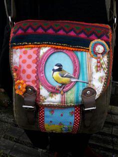 Lilli-pomerin  etsy dawanda tasche meise vogel
