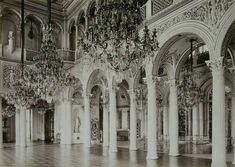 """ghosts-of-imperial-russia: """" The Pavilion Hall in the Small Hermitage Russia… Queen Aesthetic, Princess Aesthetic, Character Aesthetic, White Aesthetic, Aesthetic Pastel, Hermitage Russia, Arquitectura Wallpaper, Tessa Gray, Reign Bash"""