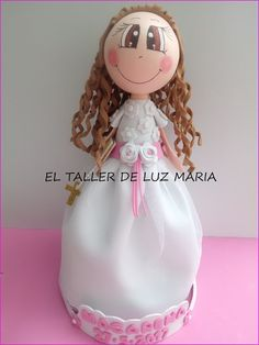 EL TALLER DE LUZ MARIA: FOFUCHA COMUNIÓN MACARENA