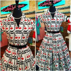 """Make your """"Beauty Mark!"""" With our amazing new arrival at Endless Indulgence Retro Wear  Sizes S - XL Made in the USA!  #shophistoric25thstreet #shoplocalutah #utahboutique #beautymark #berniedexter #historic25thstreet #retrostyle #summerfun #classicclothing #ogden #saltlakecity #visitogden #endlessindulgenceretrowear"""