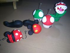 My first polymer clay figures =)