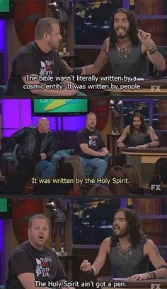 Russell Brand vs the Westboro Baptist Church - Imgur ( I actually watched this, Russell did excellent!)