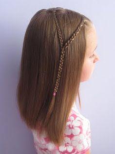 hippie braids for little ones.