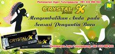 Agen Crystal X Tulungagung Menjual Crystal X Asli. Jangan tertipu dengan harga murah tapi palsu  sayangi organ pribadi anda  Pemesanan Hubungi : Ibu Tutik Masfiyah Kepatihan, Tulungagung HP: 081.332.990.822