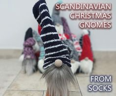 Ever since a visit to Denmark I really liked the Scandinavian Christmas gnomes (or tomte, nisse. ...) for decoration during the holiday period. After a lot of DIY...
