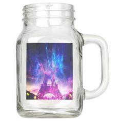 Amethyst Parisian Dreams Mason Jar - mason jars gifts ideas presents