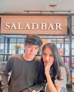 Salad Bar, Selfie, Selfies
