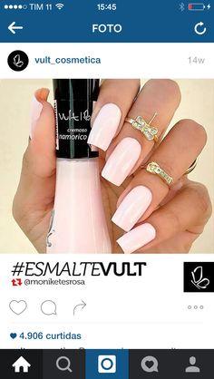 Vult French Manicure Acrylic Nails, Nail Polish, Hot Nails, Hair And Nails, Garra, Nail Paint Shades, Toenail Fungus Laser Treatment, Nail Remover, Nails 2017