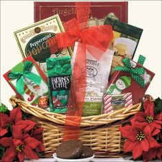 GreatArrivals Gift Baskets Tis the Season Small Gourmet Holiday Christmas Gift Basket - http://www.specialdaysgift.com/greatarrivals-gift-baskets-tis-the-season-small-gourmet-holiday-christmas-gift-basket/