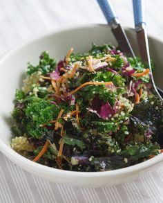 Detox Kale Salad with Avocado