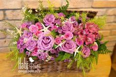 Habi flower, Habi studio, flower arrangement, birthday flower, Habi design, flower basket, vintage flower Floral Wreath, Wreaths, Vintage, Design, Home Decor, Decoration Home, Room Decor, Vintage Comics, Bouquet