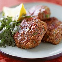 Weight Watchers Indian Ground Lamb Patties.  It's so nice to see WW branch out like this.