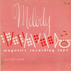 Melody vintage album cover