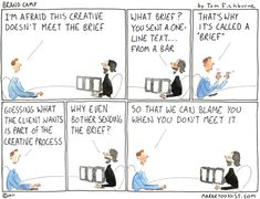 Creative briefs may be brief, but often they aren't very creative.