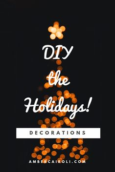 Decorate for the Christmas with these super easy DIY projects! This year, we are hosting our very first Christmas party! Diy Crafts To Sell, Crafts For Kids, Diy Crafts For Boyfriend, Best White Elephant Gifts, Christmas Activities, Family Activities, Love Craft, Breakfast For Kids, Mom Quotes